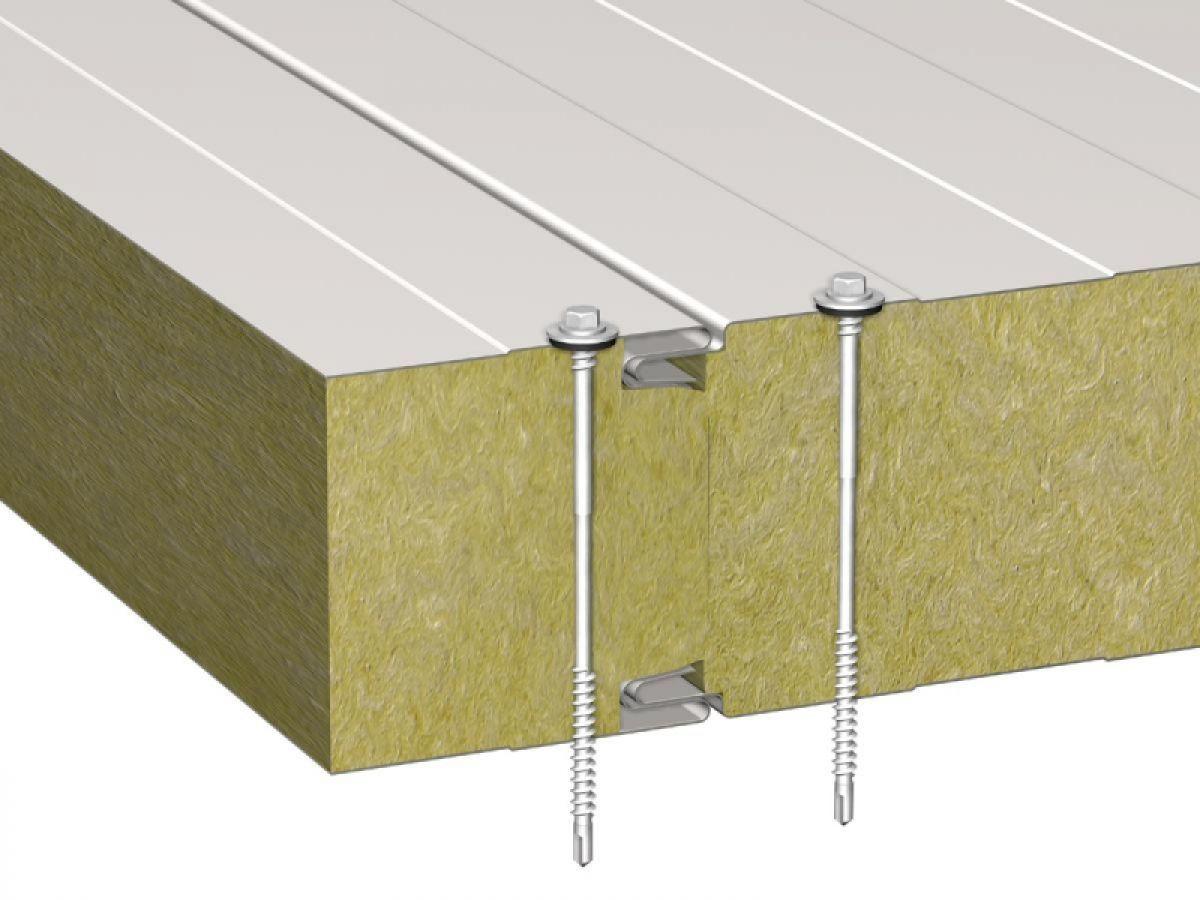 Стеновые ТСП с наполнением из минеральных плит на основе базальтового волокна