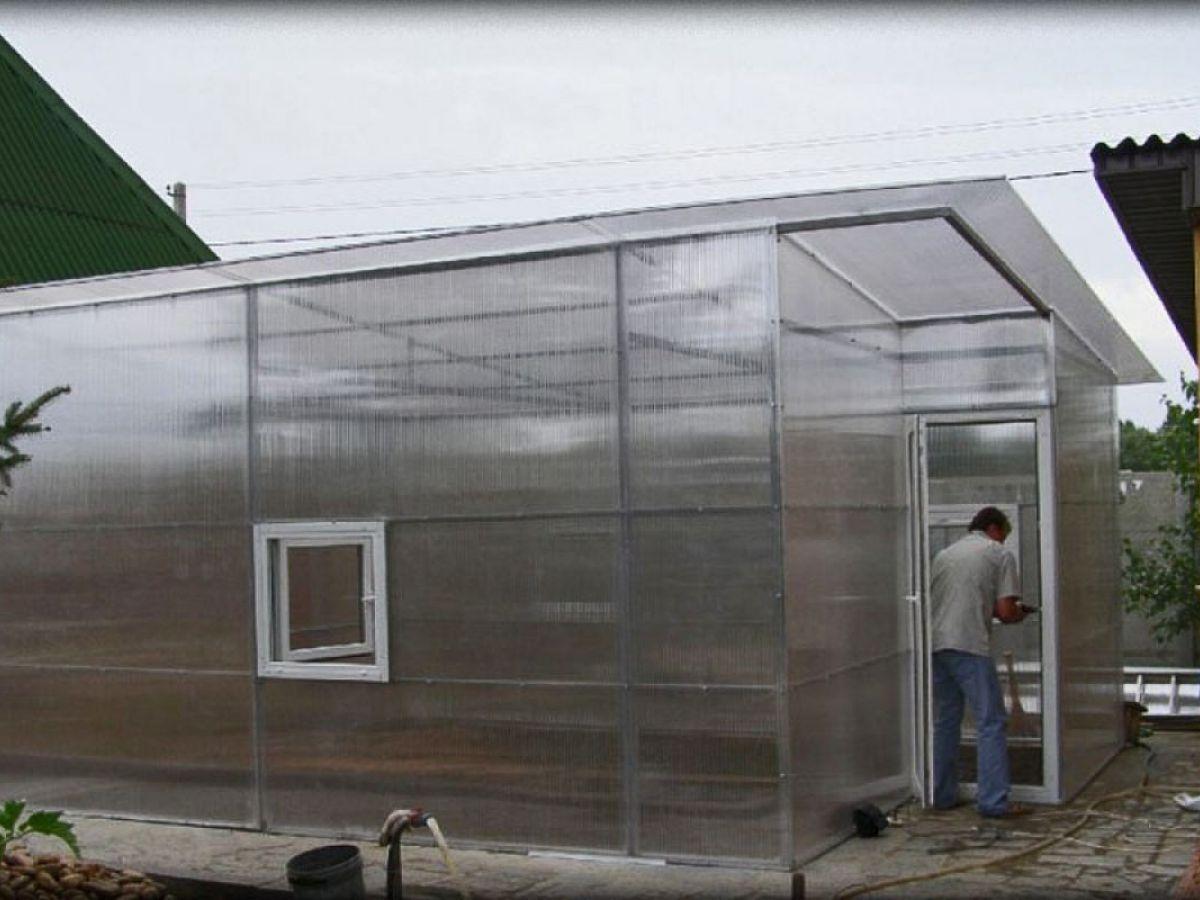 Сотовый поликарбонат для применения в СЕЛЬСКОМ ХОЗЯЙСТВЕ Актуаль Bio