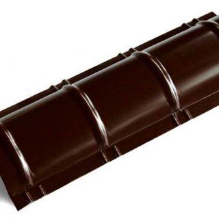 Планка конька полукруглого R110 0,45мм