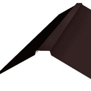 Планка конька плоского 180х180 0,45мм