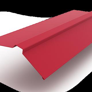 Планка конька плоского 140х140 0,45мм