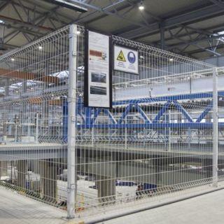 Ограждения 3D для промышленных объектов PROFI